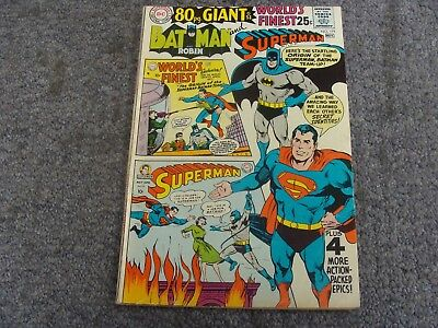 World's Finest Comics #179 (1968) 80 Page Giant * 7.0 * FN/VF