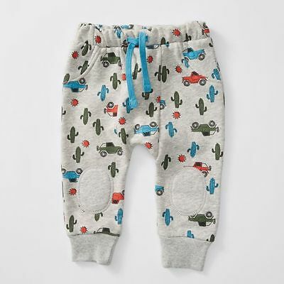 NEW Baby Mix N Match Car Harem Trackpants