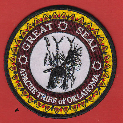 Apache Tribe Of Oklahoma Tribal Great Seal Patch