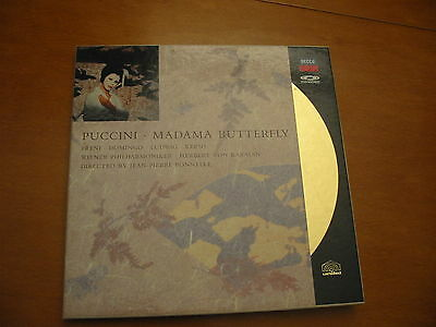 LASER DISC MADAMA BUTTERFLY cd video ORO