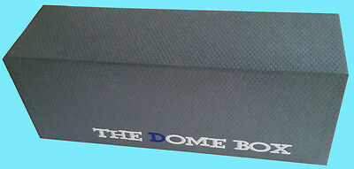 The DOME GRADED CARD BOX GREY Sports Trading Storage Case Slab PSA Beckett
