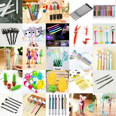 Lots Wholesale Novelty Ballpoint Pens Office School Supply Stationary 47 Styles