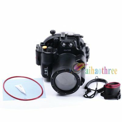 Meikon 40m 130ft Waterproof Diving Case For Olympus OMD E-M1 12-40mm Camera【AU】