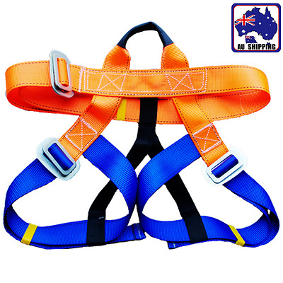 Rock Climbing Harness Seat Safety Belt Rappelling Downhill Equipment OBUS54026