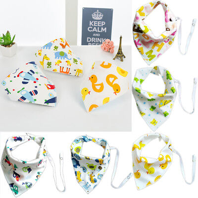 1Pcs Infant Kids Baby Boy Girl Feeding Saliva Towel Dribble Triangle Bandana Bib