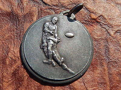 medaille  RUGBY  CHALLENGE SOLVIGNON  1965