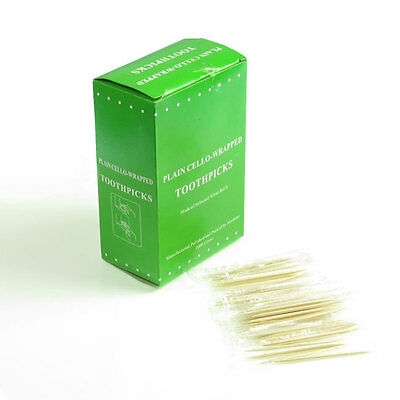 Single Wrapped Plastic Toothpicks  Choose 200-600 - Top Quality tooth pick SYD