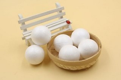 50Pcs Polystyrene Foam Ball Decoration Craft DIY 80mm