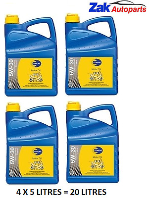 Comline 5w30 D2 BMW LL-01/04 Fully Synthetic Long-Life Engine Oil - 20 Litres