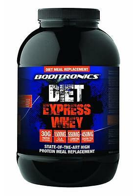 Boditronics Diet Express Whey Meal Replacement Supplement Shake 900g / 1.8kg
