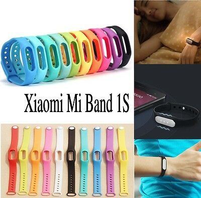 For Xiaomi MiBand 1S Bracelet Colorful Replacement Wrist Band Wristband Strap