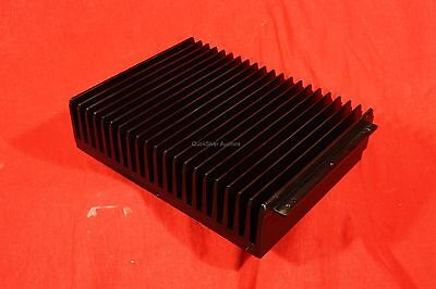 "Aluminum Black Heat Sink, large, 10.25"" x 8.125"" x 2.66"", 11.275 Lbs. Large mass"