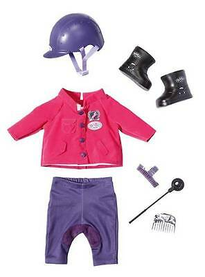 Baby Born® Pony Farm Deluxe Reit-Outfit Reiteroutfit 822340 Zapf Creation
