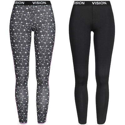 Vision Street Wear Leggings Damen Tights Fitness Leggins Training Sporthose Hose