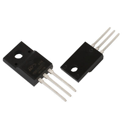 MBR20200CT TO-220F 20A 200V Common Cathode Schottky Diode Parts Plastic