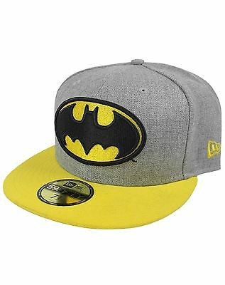 New Era 59Fifty Batman Heather Hero Cap