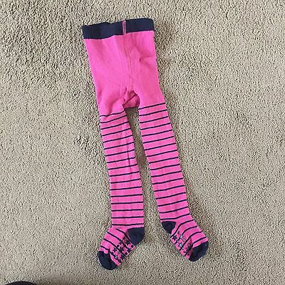 Jojo Maman Bebe Pink Tights 1-2 Years