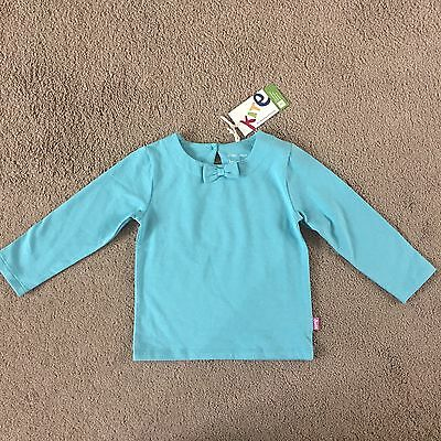 Kite Long Sleeved Girls Bow Top 12-18months