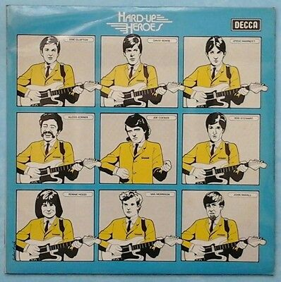 VARIOUS ARTISTS ~ HARD-UP HEROES ~ 1974 UK 24-TRACK MONO 2LP RECORD SET [Ref.1]