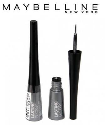 Maybelline Lasting Glossy Liquid Eye Liner # Silver **brand New**