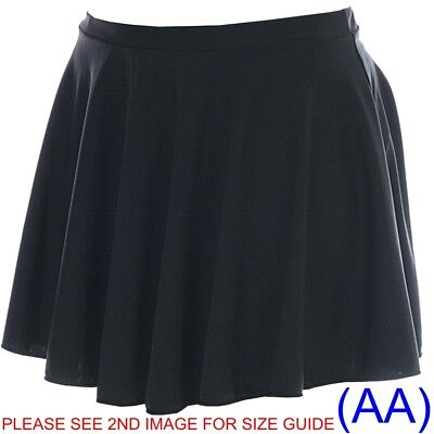 Shiny Circular Dance Ballet Skirt Lycra skating tap jazz (AA)