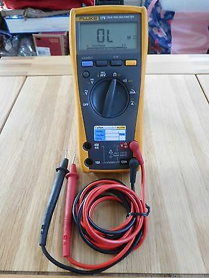 Fluke 179 True Rms Multimeter, With Fluke Probes