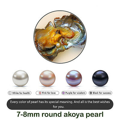 New Fashion Gifts LOT 1/5/10/25pcs Wrapped Bulk Akoya Oysters with Large Pearls