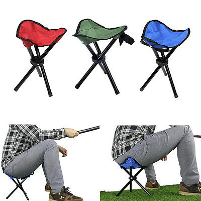 Outdoor Portable Lightweight Chair Camping Hiking Fishing Folding Picnic Seat IB