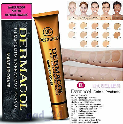 Dermacol High Covering Make Up Foundation Legendary Film Studio Concealer Cover