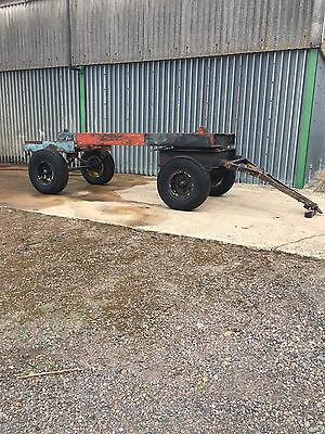Compairholman 750 Compressor Chassis Undercarriage Turntable Ster Twin Axle Incv