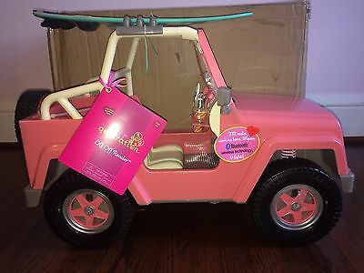 Our Generation 4 X 4 Electronic Jeep Plus Lilia 18 Quot Doll