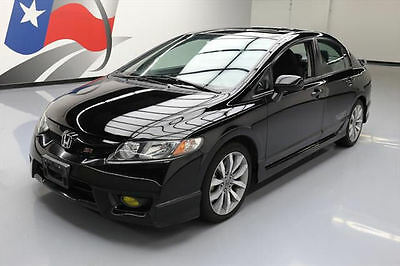 2011 Honda Civic Si Sedan 4-Door 2011 HONDA CIVIC SI SEDAN 6-SPD SUNROOF GROUND EFFECTS! #701325 Texas Direct