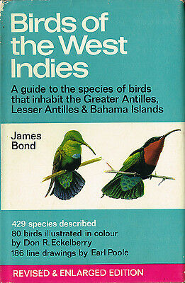 Birds of the West Indies by James Bond (the Ornithologist)~