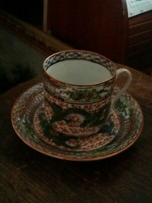 vintage chinee cup and saucer