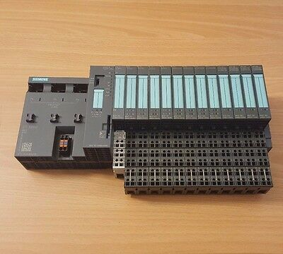 Siemens S7 ET200S Rack with 6ES7151-8AB00-0AB0 IM151-8PN/DP CPU