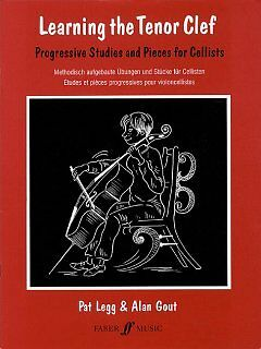 Learning the Tenor Clef - NEW - 9780571519170 by Legg, Pat/ Gout, Alan