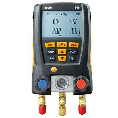 Testo 549 Digital Refrigeration Gauges