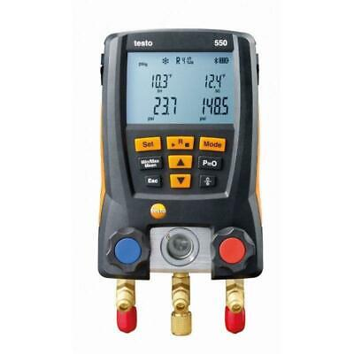 Testo 550 Digital Refrigeration Gauges with Bluetooth 05631550