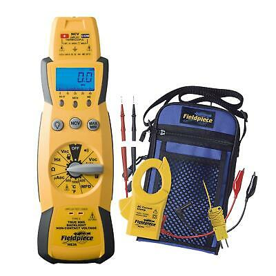 Fieldpiece True RMS Expandable Multimeter Kit with Clamp Head HS36