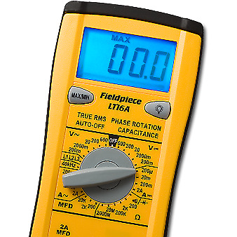 Fieldpiece True RMS digital multimeter with phase rotation LT16A