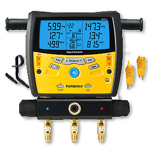 Fieldpiece Base model Digital Gauge Manifold with 3 ports SMAN320