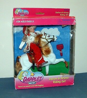 Dapples Dalton & Arlene Riding Set - 1997 - Breyer - Mib