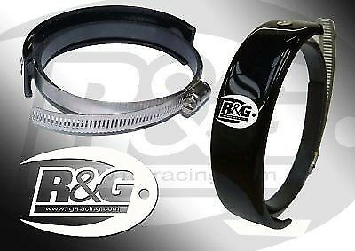 R&G Exhaust Protector For Yamaha 2014 YZF-R6 EP0008BK