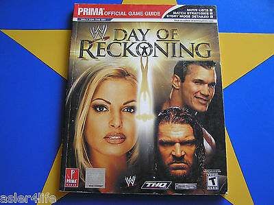 Wwe Day Of Reckoning  - Strategy Guide