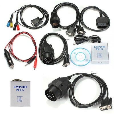 KWP 2000 Plus + Chip Tuning ECU Engine Tune Remap Flasher Scan Tool OBD2 OBDII