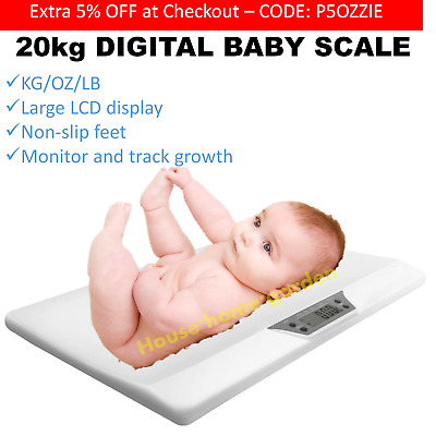 Pediatric Baby Scale LCD Electronic Digital Newborn Scale Pets Puppies Kittens
