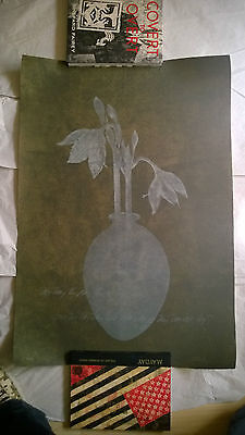 "Guillermo Conte ""Digitale Impressions"" 1999  74/75 Aquatinta etching"