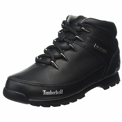 Lace Mens Hiker Leather Black Timberland Euro Sprint Up 7g6bfy