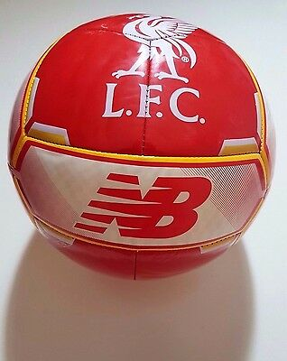 NEW BALANCE LIVERPOOL FC FURON Football Soccer Ball Full Size 5 Indoor Outdoor