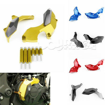Engine Stator Clutch Cover Frame Sliders Crash Guard For YAMAHA YZF R25 R3 MT-03